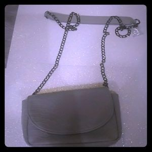 Mossimo Gray Lizard Clutch